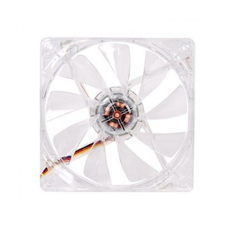 Ventilador THERMALTAKE CL-F019-PL12RE-A, Transparente, Ventilador, 1000 RPM