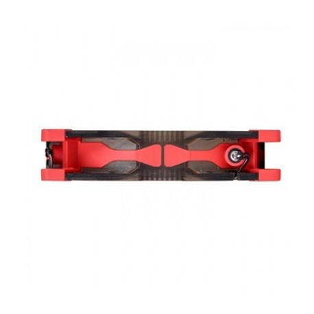 Ventilador THERMALTAKE Luna 12 LED Red Fan, Rojo, 121,3 g, Ventilador