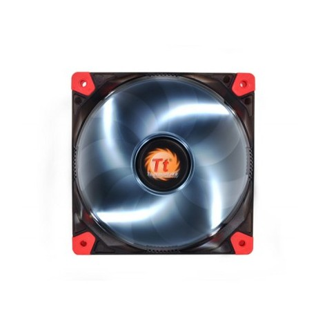 Ventilador THERMALTAKE Luna 12 LED White Fan, Negro, Ventilador