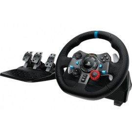 Volante LOGITECH G29 DRIVING FORCE, Ruedas + Pedales, PlayStation 4, Playstation 3, Alámbrico, Negro