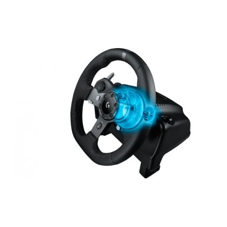 Volante LOGITECH G920 DRIVING FORCE, Negro, Volante de carreras, PC, Xbox One