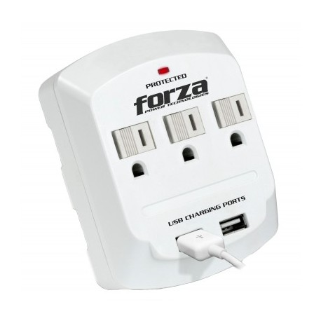 Wall tap FORZA , 300 J, 3, Color blanco