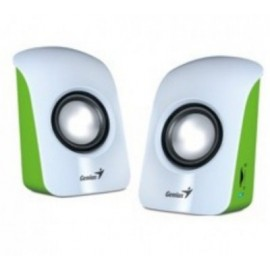 Bocina GENIUS GB-SPU115V, 1.5 W, Color blanco, USB, USB