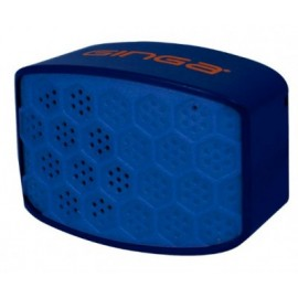 Bocina GINGA GI16BOC01BT-AN, Azul, Bluetooth, 2.1
