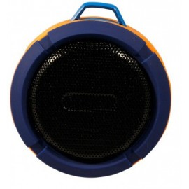 Bocina GINGA GI16BOC02BT-AZ, Azul, Bluetooth