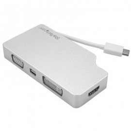 Adaptador de Audio y Video StarTech.com CDPVGDVHDMDP, Plata