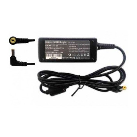 Adaptador de Corriente 65W 19V 3.42A (5.5*1.7) Marca Battery First ASPIRE 1200, 1400, 1600, 2000, 3000, GATEWAY NV5207U, NV5211U