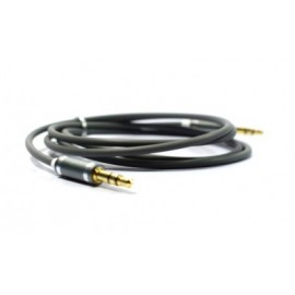 Cable de Audio Naceb Technology NA-488GRR, 1 m, Negro