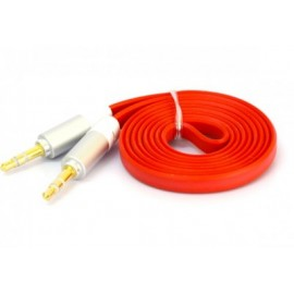Cable de Audio Naceb Technology NA-488ROJ, 1 m, Rojo