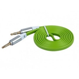 Cable de Audio Naceb Technology NA-488VERR, 1 m, Verde