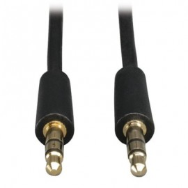 Cable de audio TRIPP-LITE P312-003, 0,91 m, 3.5mm, 3.5mm, Negro