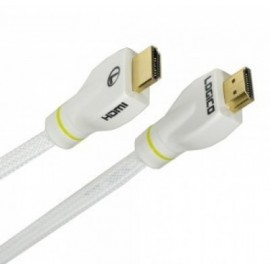 Cable de Video HDMI LOGICO HD1406W, 1,8 m, Color blanco