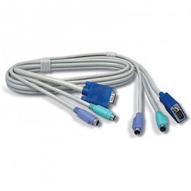 Cable KVM TRENDnet, 1,8 m, PS/2, VGA
