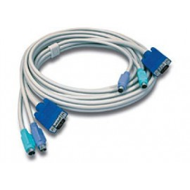 Cable KVM TRENDnet, PS/2, VGA