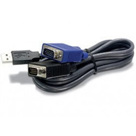 Cable KVM TRENDnet, USB 1.1 Type A, VGA/SVGA