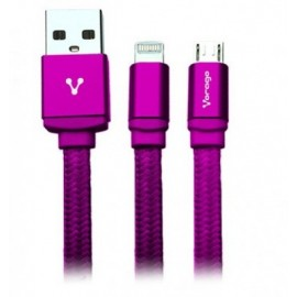 Cable Lightning VORAGO CAB-209, Rosa, Apple, Cable Lightning