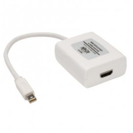 Adaptador de Video TRIPP-LITE P137-06N-HDMI, Color blanco, Mini DisplayPort, Mini DisplayPort, Mini DisplayPort, Macho/hembra