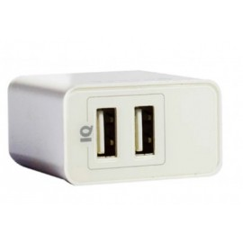 Cargador de Pared Naceb Technology NA-604, USB, Color blanco