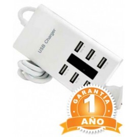 Cargador OVALTECH, USB, Color blanco