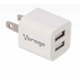 Cargador VORAGO , Color blanco, 100 V - 240 V