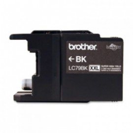 Cartucho BROTHER LC79BK, Negro, Brother