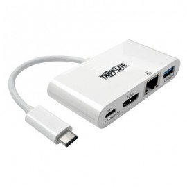 Adaptador Externo de Video 3.1 TRIPP-LITE U444-06N-HGU-C, Color blanco