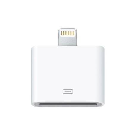 Adaptador Lightning APPLE, Color blanco, Cable Lightning