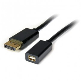 Adaptador Mini DisplayPort a DVI StarTech.com, DisplayPort, mini DisplayPort, Macho/hembra, Negro