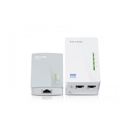 Adaptador powerline TP-LINK , Color blanco