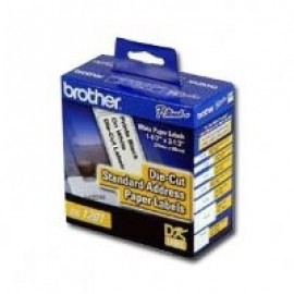 Etiquetas BROTHER DK1201, Color blanco