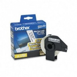 Etiquetas BROTHER DK1204, Color blanco, 400