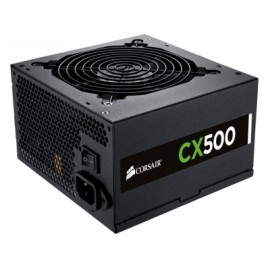 Fuente de poder CORSAIR CX500 Bronze, 100 - 240 V, 47 - 63 Hz, Negro, 500 W, PC