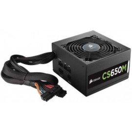 Fuente de Poder CORSAIR CX650M REFURBISH, Negro, 650 W