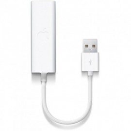 Adaptador USB APPLE USB ETHERNET ADAPTER - BES, Color blanco, Apple, Adaptadores