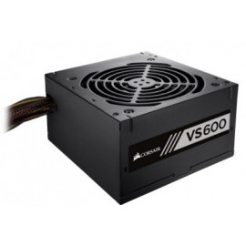 Fuente de Poder Gaming CORSAIR BUILDER SERIES VS600 80 PLUS, 600 W, Negro
