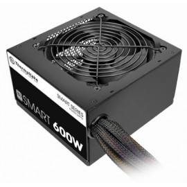 Fuente de Poder Gaming THERMALTAKE Smart 600w, 600 W, Negro