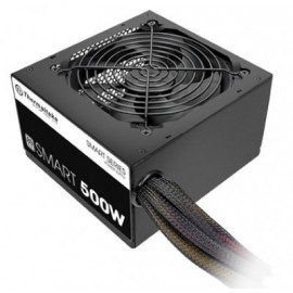 Fuente de Poder Gaming THERMALTAKE Smart 80 plus, 500 W, Negro