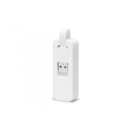 Adaptador USB- Ethernet RJ45 TP-LINK UE200, Color blanco